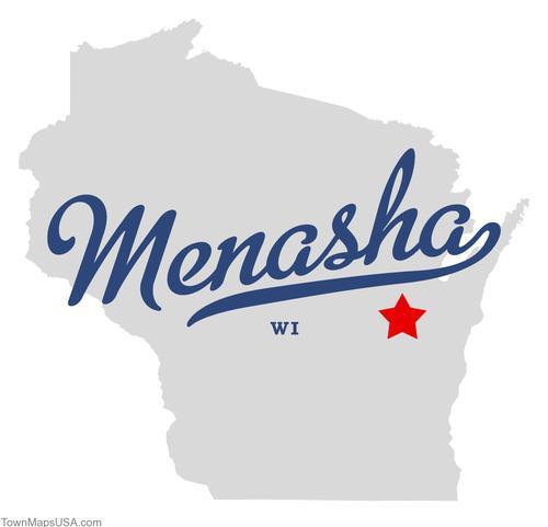 map_of_menasha_wi